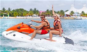 Jet Boat Adventure at Cozumel, Mexico