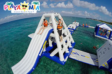 Caribbean Sea Bouncing: Thrilling Fun On A Floating Track