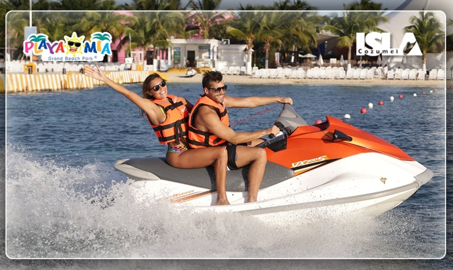 Cozumel Wave Runner Rentals at Playa Mia: Feel the Adrenaline Rush