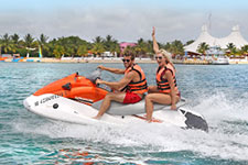 Jet Skiing at Playa Mia