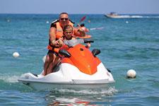 Jet Skiing at Playa Mia