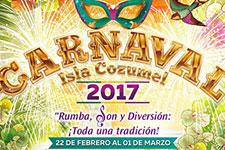 ¡Rumba, Son y Diversión! Carnaval de Cozumel ¡143 años de tradición!