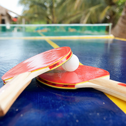 Ping Pong at Cozumel, mexico
