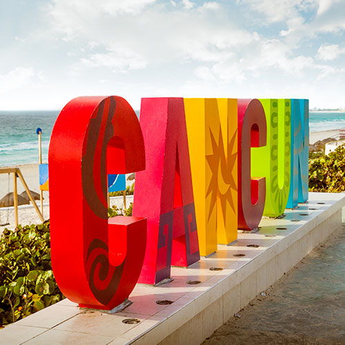 From Cancun & Riviera Maya​ to Playa Mia Grand Beach Park, Cozumel