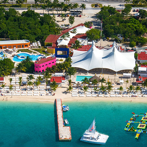 Head Over to Our Beach Park on Cozumel, Mexico