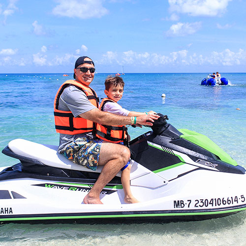 Add on attractions at Playa Mia Grand Beach Park, Cozumel