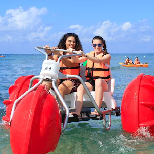 Beach Day Pass Buffet With Transportation at Cozumel, Mexico
